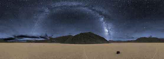 The Racetrack area in Death Valley National Park, which boasts one of the darkest night skies in the U.S.