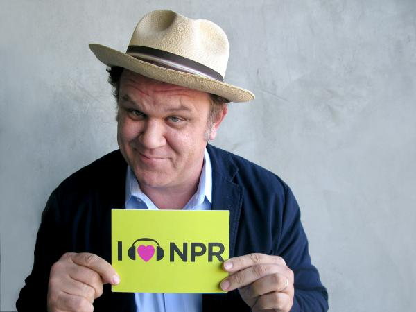 John C. Reilly voices the title character in <em>Wreck-It Ralph</em>, which is nominated for best animated feature film. Though his character is a video-game bad guy who wants to be good, Reilly showed us he's one of the good guys with his love for NPR. (http://n.pr/U6Pu3V)