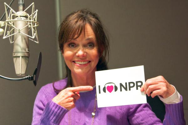 She loves us; she <em>really</em> loves us! <em>Lincoln</em> actress Sally Field went on <em>Talk of the Nation</em> to share details about her extensive preparation for the role of First Lady Mary Todd Lincoln, which earned her a Supporting Actress nod. (http://n.pr/T21hAW)