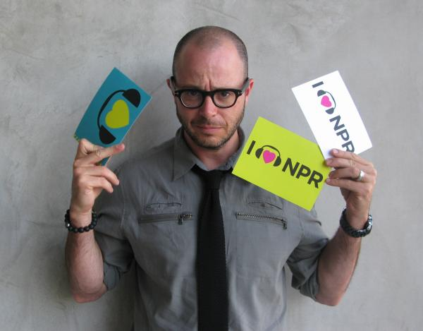Screenwriter Damon Lindelof, known for his work on TV hit <em>Lost</em>, recently took on the sci-fi thriller <em>Prometheus</em>, nominated for its visual effects. We're thrilled Lindelof took a turn in front of the camera to show love for NPR. (http://n.pr/KC6u3n)