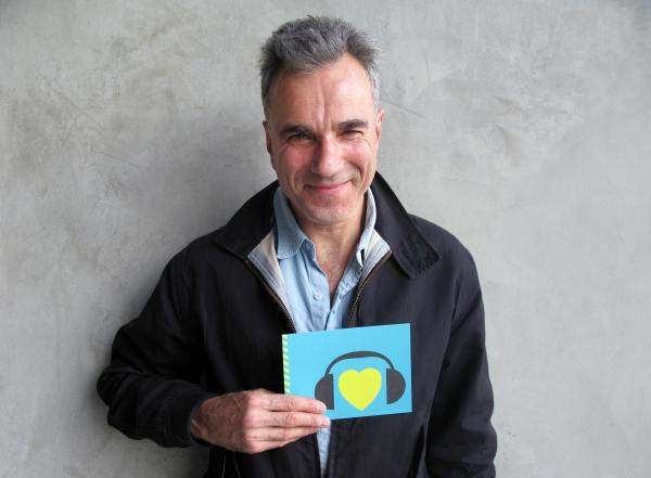Two-time Best Actor winner Daniel Day-Lewis could make history this Sunday with a third statue for his performance in <em>Lincoln. </em>Hear him talk about the role with NPR on <em>All Things Considered</em>, and check him out here flashing a winning smile while showing us some love. (http://n.pr/Z00wgV)
