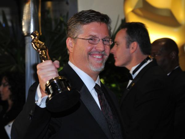 Bill Westenhofer, winner of best visual effects for <em>Life of Pi</em>, said backstage that the business model of the visual effects industry needs to change.
