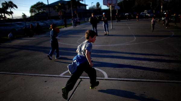 A poll needs to ask about randomly selected children in households across the country to bring context to what's happening with kids like 7-year-old Henry Condes in Los Angeles.