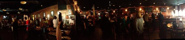 The more poutine you eat, the more useful the iPhone's panorama function becomes.