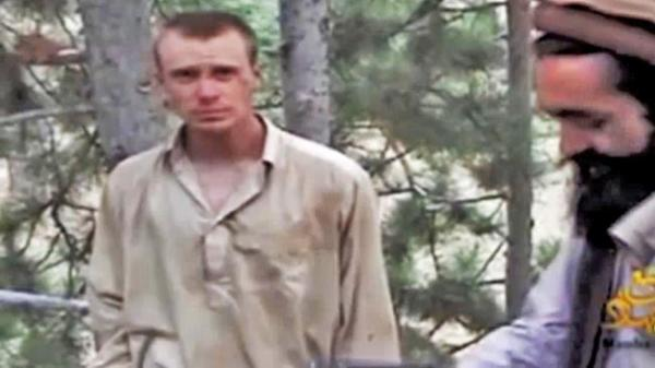 A Taliban video dated December 2010 appears to show Sgt. Bowe Bergdahl of Hailey, Idaho, in captivity. Image via YouTube