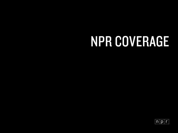 <p>NPR Coverage of Race, Ethnicity and Culture</p><p></p>