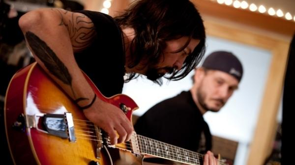 Rock musician Dave Grohl recorded Nirvana's <em>Nevermind</em> at L.A.'s Sound City Studios; now, he's turned his musical memories of the place into a documentary film of the same name.