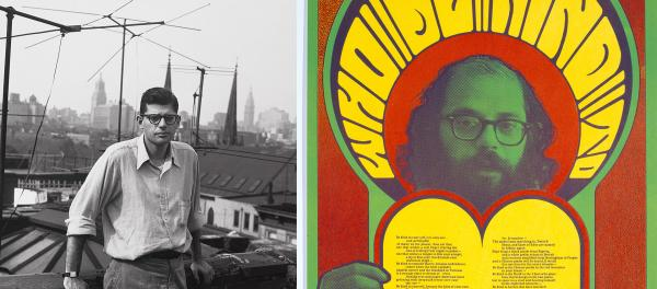 """When William S. Burroughs <a href=""""http://media.npr.org/assets/img/2013/02/08/ginsberg1_custom.jpg"""">photographed</a> Allen Ginsberg in 1953, the young poet bore almost no resemblance to the bearded countercultural <a href=""""http://media.npr.org/assets/img/2013/02/08/ginsberg2_custom.jpg"""">icon</a> that he would become in the 1960s."""
