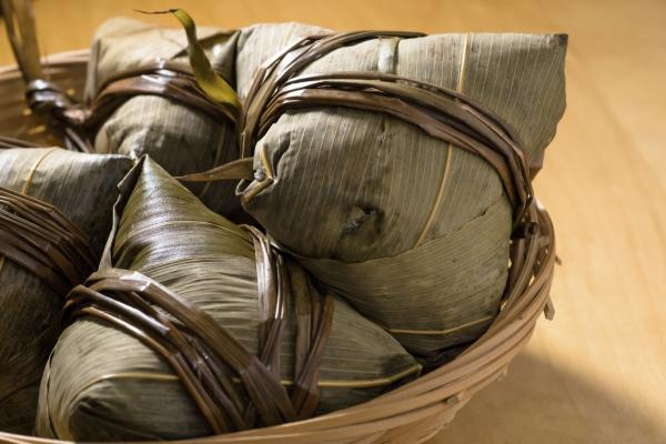 """<em>Jung</em> is a portable meal, wrapped in bamboo leaves,"" says Jidan Koon. She and her now-husband, Bryant Terry, created their own multicultural version of the traditional dish when they got engaged."