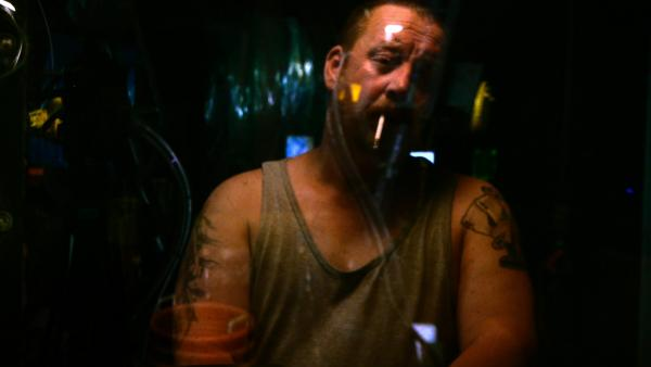 The men who pilot the boats that fill <em>Leviathan</em> are shown in stark, raw honesty — though the film is completely devoid of dialogue.