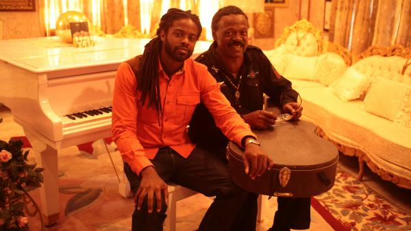 Adrian Younge (left) and William Hart. <em>Adrian Younge Presents The Delfonics</em> <em></em>comes out March 12.