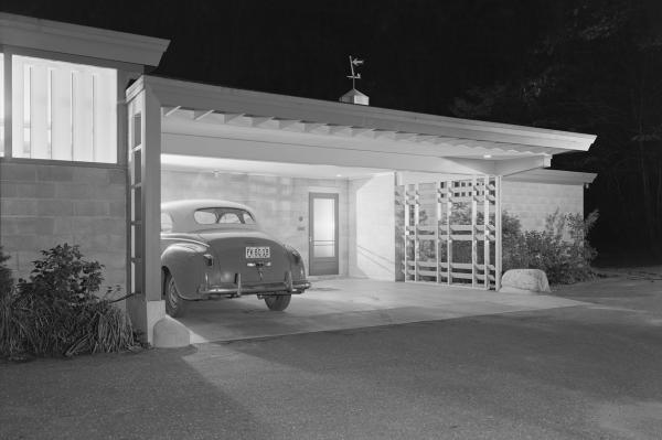 <em>Brenner House, Harry Weese, Champaign, Ill.,</em> 1952