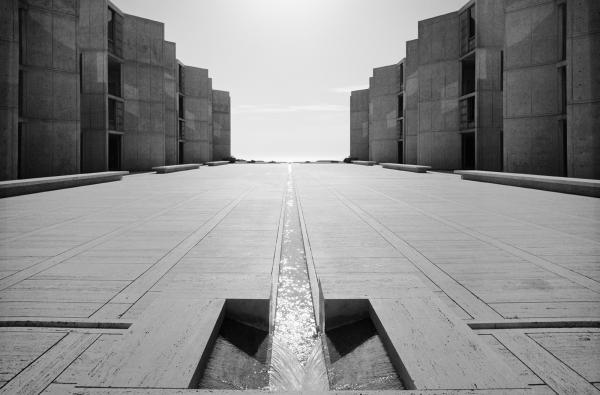 <em>Salk Institute of Biological Research, Louis Kahn, La Jolla, Calif.,</em> 1977