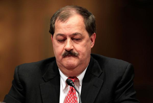 Former Chairman and CEO of Massey Energy Don Blankenship in 2010.