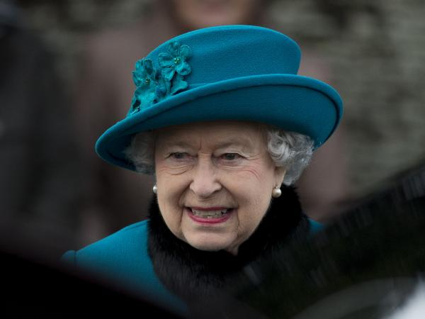 Britain's Queen Elizabeth II has been taken Sunday to a hospital in central London. She's being treated for symptoms of gastroenteritis.
