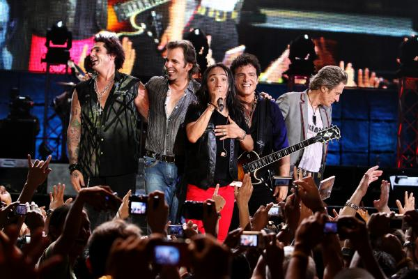 Journey takes a pragmatic-old-pros approach to integrating its new lead singer; though <em>Don't Stop Believin' </em>emphasizes Pineda's rags-to-riches story, it's clear from the film that the band's main goal is the continuity of its business and brand.