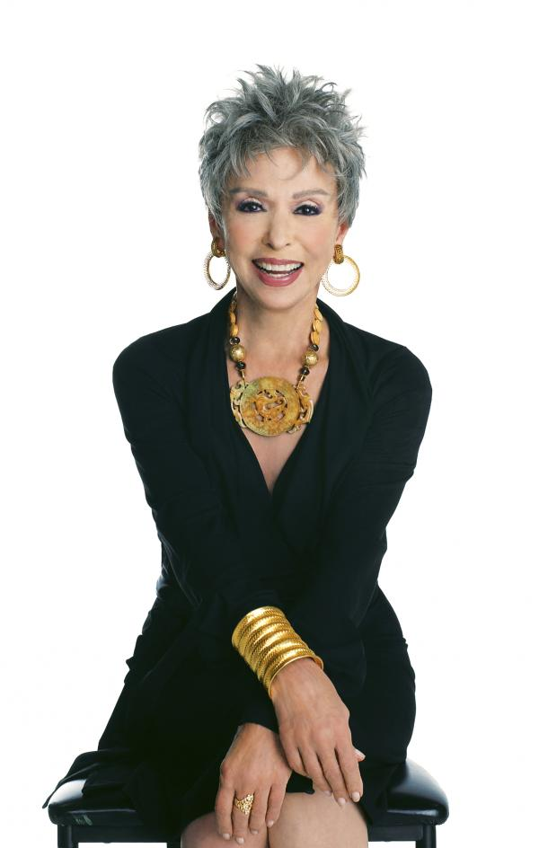 Rita Moreno's more recent projects include the TV Land comedy series <em>Happily Divorced</em>.