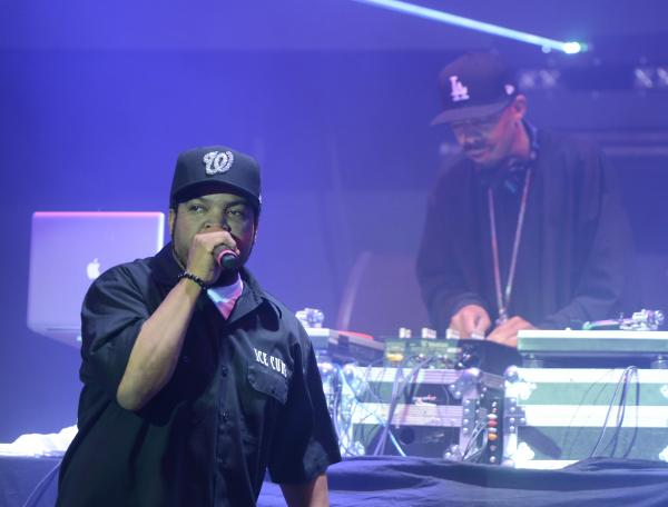 Ice Cube goes hard at the #BoldStage.