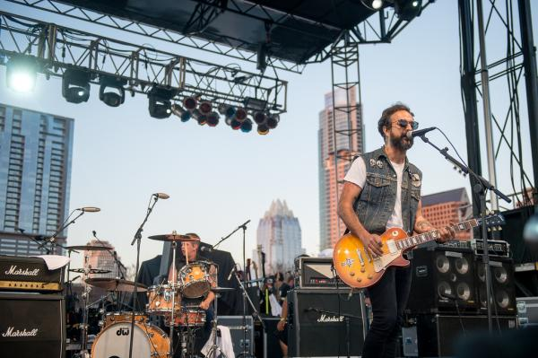 Heavy, angry and hilarious, Molotov pounds Auditorium Shores into submission during a SXSW showcase presented by NPR Music's <em>Alt.Latino.</em>