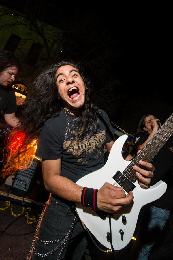 Immortal Guardian brings ridiculous power metal — dungeons, dragons, and all — to the streets — 6th Street, to be specific.