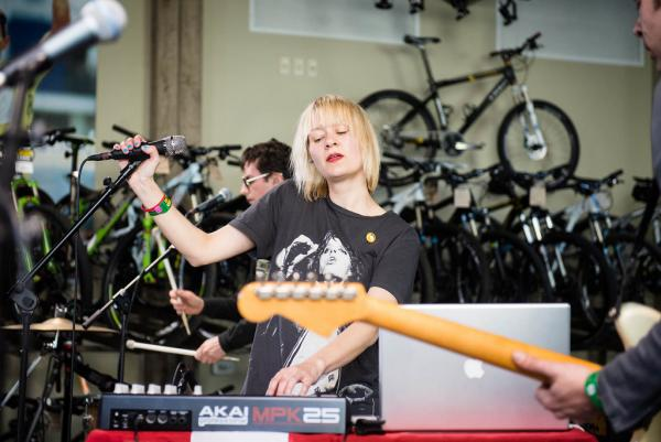 It's easy to bliss out to the moody pop music of Gliss at Mellow Johnny's for the KEXP showcase.