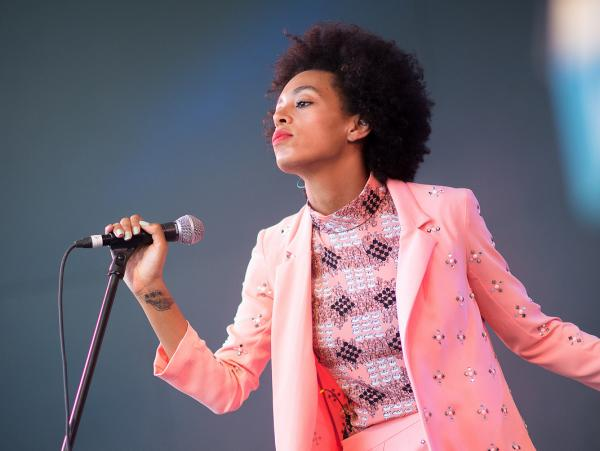 Solange performs at Stubb's.