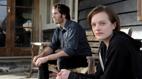 Elisabeth Moss (right) and Thomas Wright star in Jane Campion's new series <em>Top of the Lake</em>.