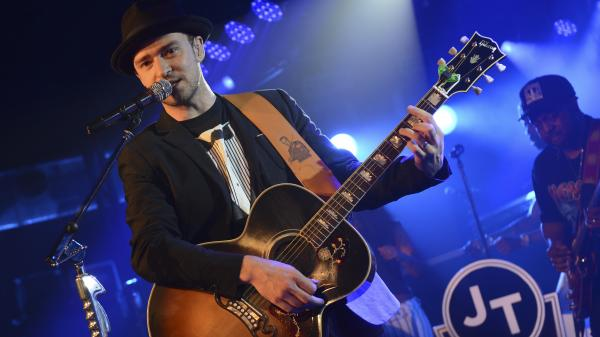 Justin Timberlake performed Saturday at the Myspace Secret Show during the SXSW Music Festival in Austin, Texas. His new album — his first in seven years — is <em>The 20/20 Experience.</em>