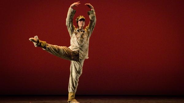 Dancer Josh Burnham plays the role of Colin Wolfe in the Manassas Ballet Theatre production <em>Colin</em>.