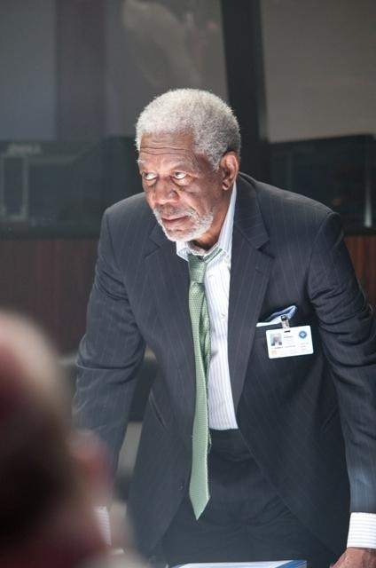 With invading North Korean forces having laid waste to the White House, U.S. House Speaker and Acting President Allan Trumbull (Morgan Freeman) leads a team seeking to rescue the president and restore order.