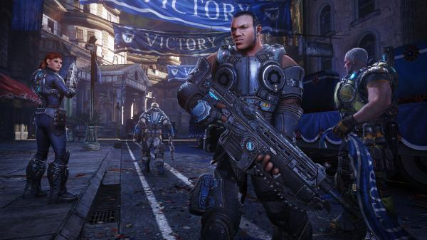 <em>Gears of War: Judgment</em> hit stores on Tuesday.