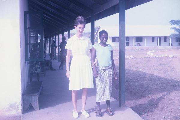 """Lost Nigeria"" is a series of photos showing the life of designer Senongo Akpem's mother in Africa. All photos were taken on slide film, between 1960 and 1980."