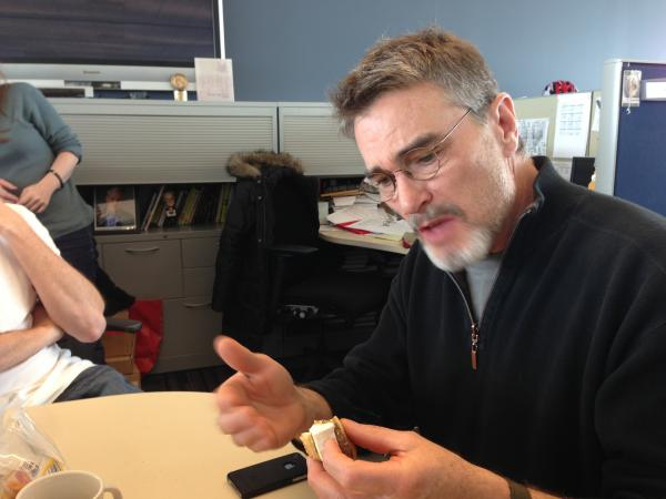 In his first Sandwich Monday, Tom makes the classic rookie mistake of attempting to reason with the sandwich.