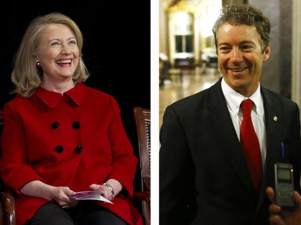 Recent policy announcements by Clinton and Paul have convinced many that they are all about the 2016 presidential campaign.