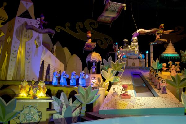 "A scene from the ""It's A Small World"" ride, seen at Disneyland in Anaheim, Calif."