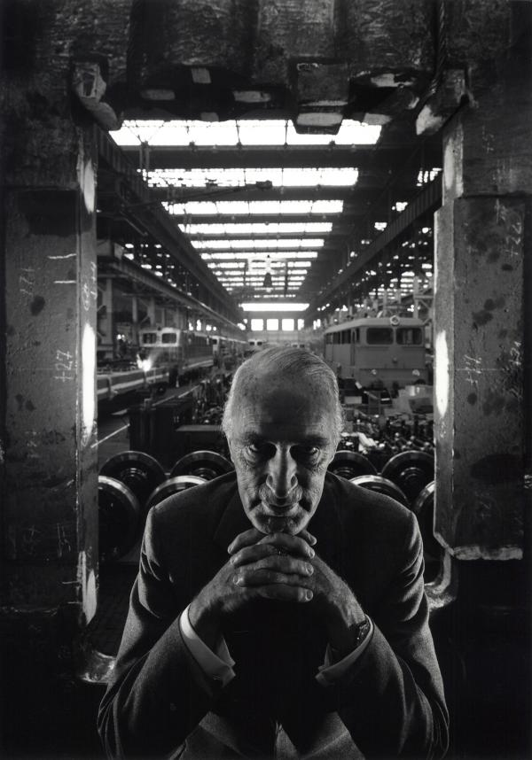 Alfried Krupp, industrialist, Essen, Germany, 1963
