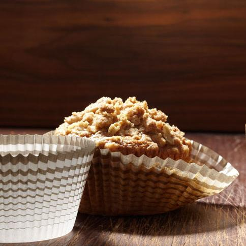The <em>Bouchon Bakery </em>cookbook highlights the streusel topping on Keller's carrot muffins.