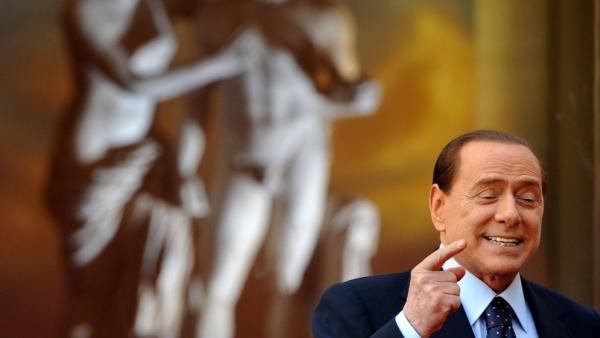 <p>Italy's Prime Minister Silvio Berlusconi, seen here in a file photo, has seen his approval rating hit record lows. And now he's angered many in his own party by jokingly suggesting a lewd name change.</p>