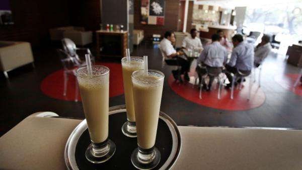 In India, Starbucks will have to compete with this locally-owned coffee chain, Cafe Coffee Day.