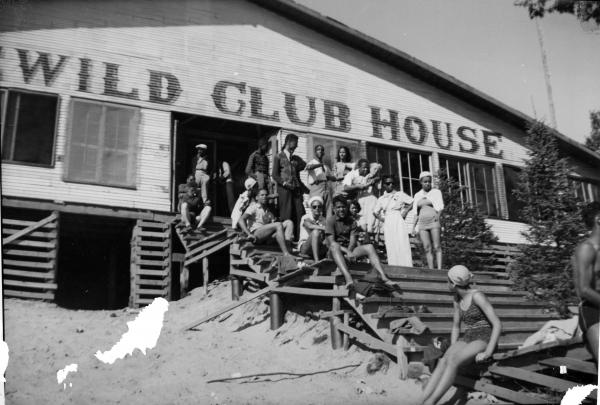 The Idlewild Club House, Idlewild, Mich., September 1938.