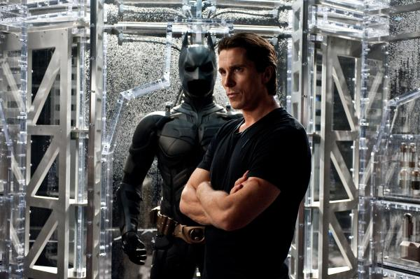 Christian Bale as Bruce Wayne in <em>The Dark Knight Rises</em>.