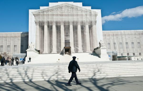 Supreme Court justices will hear arguments Tuesday on California's Proposition 8 ban on same-sex marriage. On Wednesday they'll hear arguments on the federal Defense of Marriage Act, which defines marriage as between one man and one woman.