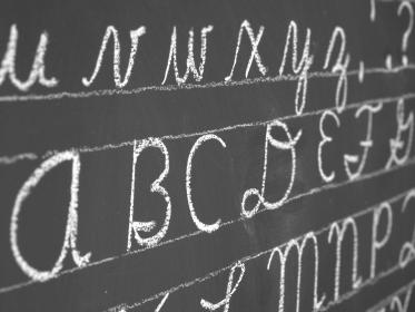 New Jersey grandmother Sylvia Hughes last fall founded a club to teach school children cursive handwriting at her grandson's elementary school.