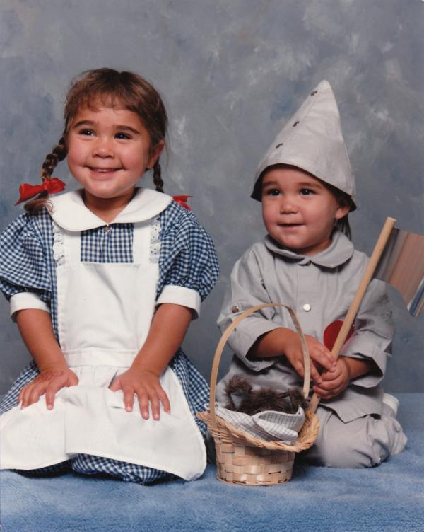 """I took my children (dressed as Dorothy and The Tin Man) to a local JCPenney portrait studio (circa 1989) and I was surprised when the young woman photographer asked what they were supposed to be. When I explained, I was even more shocked when she claimed to have never before heard of <em>The Wizard of Oz</em>."" — Sonja Brouwers"