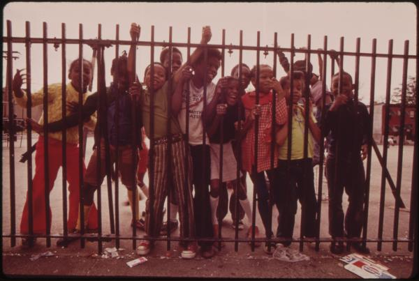Playground, Philadelphia, August 1973.