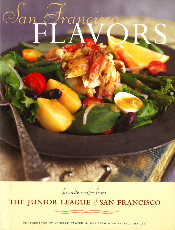 <em>San Francisco Flavors</em> includes favorite recipes from the Junior League of San Francisco. It also has tips from the city's most celebrated chefs and sommeliers, plus an introduction by Alice Waters of Chez Panisse restaurant.
