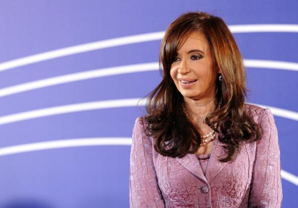Argentina's President Cristina Fernandez.