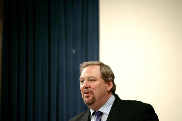Saddleback Church Pastor Rick Warren.