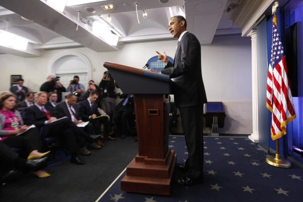 """""""Given what we now know about what took place, the FBI is investigating it as an act of terrorism,"""" President Obama said Tuesday at the White House."""