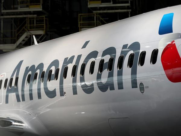 American Airlines flights were grounded for two hours on Tuesday due to a glitch in the reservation system, the airline says.